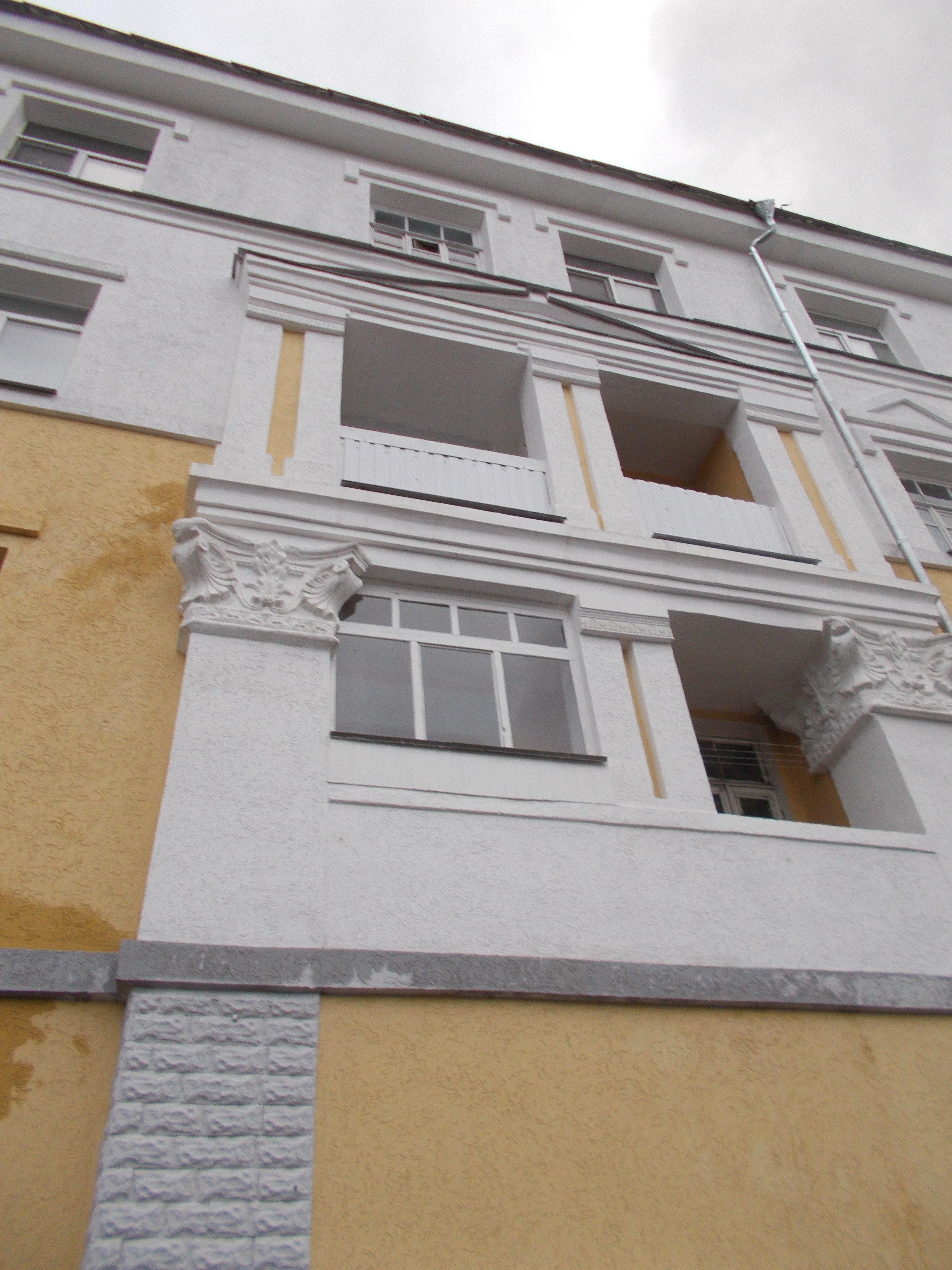 Технология отделки пенопласта по фасаду