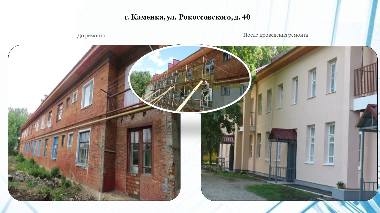 г. Каменка, ул. Рокоссовского, 40